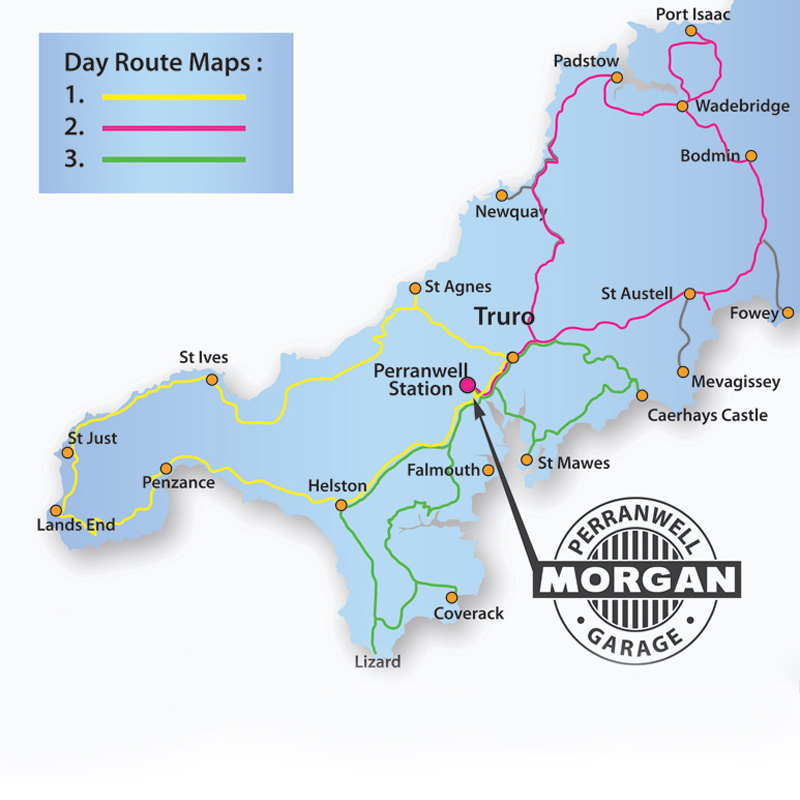 Morgan Hire Routes