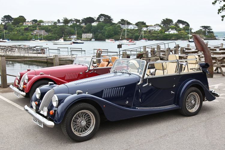 Morgan 2 and 4 Seater - Hire Cars