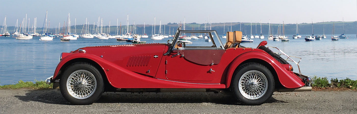 Perranwell Garage Cornwall Morgan And Classic Car Hire