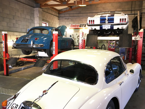 Morgan and Classic Car Specialist Garage in Cornwall