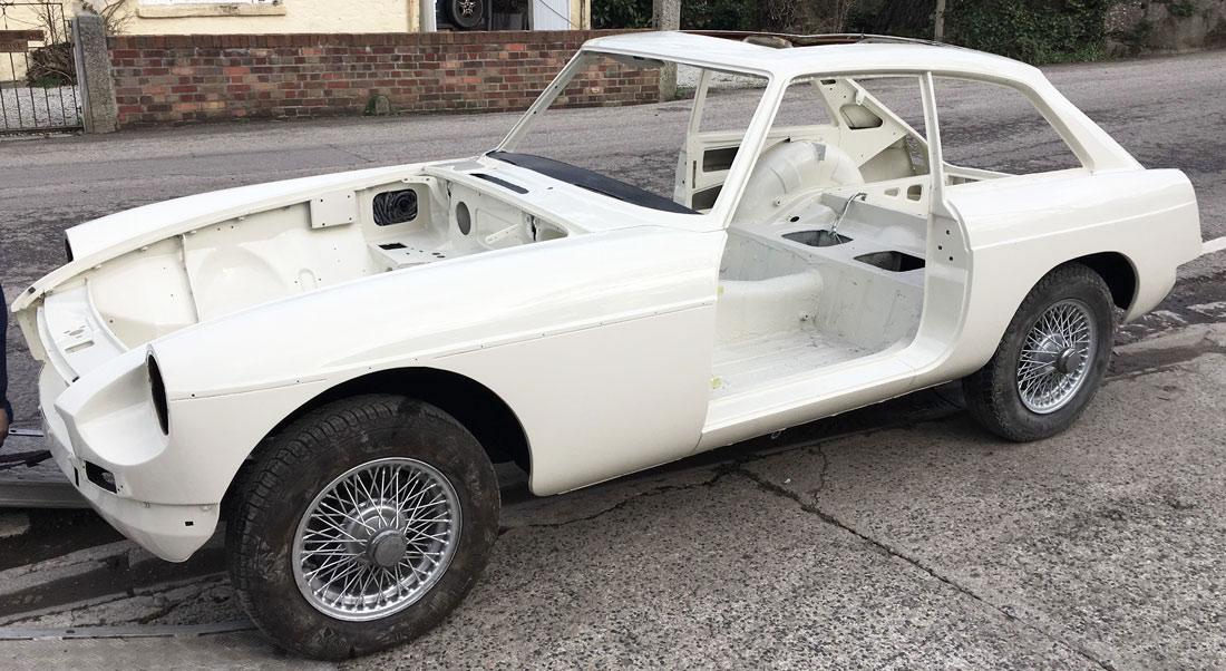 MGB GT restoration