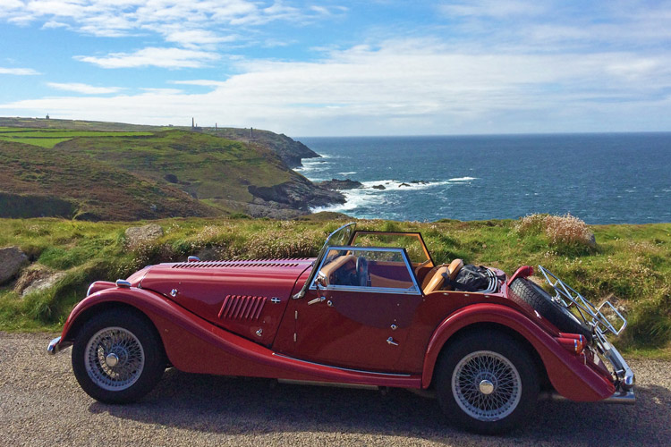 Morgan Plus 4 - Mylor Harbour Cornwall