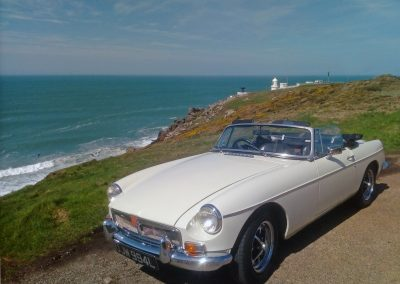Hire and MGB Roadster in cornwall