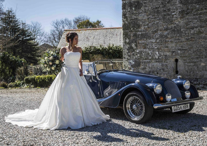 Morgan Hire for Weddings