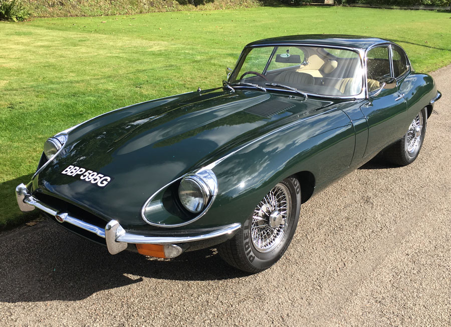 E Type Series 2 Coupe for Sale