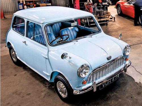 1960 Mini Restoration Perranwell Garage