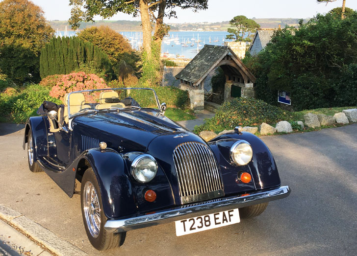 Morgan 2 Seater Hire Car