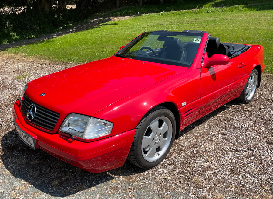 Mercedes 320 SL for sale